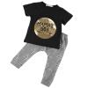 мальчиков новорожденных 100% хлопок наряды набор максимум + рубашка штаны не 2pcs одежду 2pcs 100