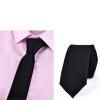 Yuzhao Lin YUZHAOLIN мужской сплошной цвет галстук жениха замуж досуг узкий галстук корейской версии подарочной коробке китайский красный