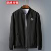 Куртка из джипа с полетом Battlefield Мужская куртка с бейсбольной курткой Comfort Large Slim Куртка 17121Z7004 Black L
