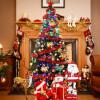 Эва Лав пакет 1,5 м елки украшенные елки пакет шифрования в сочетании с роскошными красными огнями игрушки для елки