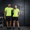 Позитивное леопард с короткими рукавами спорт костюмы мужчин и женщин фитнес беговые костюмы баскетбол одежда дышащий быстросохнущие пара моделей спортивный костюм костюмы
