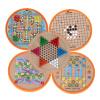 Ai Buding детские игрушки могут быть универсальные пять-в-одном шахматы шашки полет шахматы головоломки игрушки для мальчиков и девочек