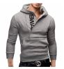 Hoodie Side Zipper Hit Color Hoodies Мужская мода Спортивный костюм Мужская толстовка с белым Hoody Mens Purpose Tour Hoodie mens casual 3d personality skull printing short sleeve t shirt cotton sport black tees