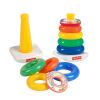 Fisher-Price развивающие игрушки радуги обойма Rock-A-Stack (ClosedBox) N8248 fisher price магнитный шарик лабиринты игрушки щетка зоосад детские развивающие деревянные развивающие игрушки fp3001