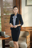 Forma Blazers Uniform Styles Ladies Office Work Wear Blazer Coat Female Tops Outwear Jackets Plus Size 4XL