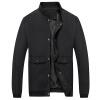 Battlefield Jeep мужские случайные короткие рубашки куртки бейсбола куртки воротник мужской моды Тонкий Мужчины куртка 17121Z7002 синий L куртка helium куртки короткие