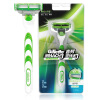 Gillette Razor Shaving Razor for Men Razor Handle *1, Blades *1 gillette shaving razor blades for men 4 count