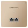 Mercury (MERCURY) MIAP301P Gold Edition 300M беспроводная точка доступа панель 86 бизнес-класса отель Villa точка доступа Wi-Fi POE блок питания управления AC wi fi точка доступа engenius ecb350 ecb350