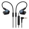 Audio-technica ATH-LS400iS Четырехканальные мобильные наушники-вкладыши Blue Moving Iron Headphones HIFI-наушники цена