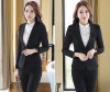 Novelty Gray Long Sleeve Autumn Winter Career Blazer Coat Formal Professional Ladies Slim Fashion Jackets Coat Outwear Uniforms sexy hair sexy hair набор шампунь и кондиционер для объема 300 мл 300 мл