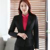 Women Long Sleeve Slim Fitted Work Suit Blazer Office Jacket 2017 Winter Spring Autumn OL Elegant Outwear Top Blszer Plus Size original intention women shoes elegant pointed toe ankle strap spring autumn style pumps woman high heels office shoes plus size