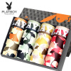 Playboy 5260B мужское нижнее белье 4 подарочная коробка угловые брюки мужские камуфляж четыре угловые шорты многоцветные XXL