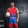 Новый положительный леопард печататься Джерси баскетбол одежды костюм мужские модели DIY тренировка персонализированные пользовательские заказа униформ костюмы спортивной баскетбольной одежды костюм костюмы wonderkids костюм