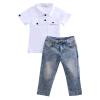 милая детская малыш дети наряды одежду футболка + штаны брюки 2pcs наряд комплекс детская футболка классическая унисекс printio мотобайк