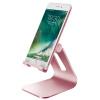 BIAZE розового золота металл В2 телефона держатель кронштейн ленивого складного стола регулируемого угла кронштейн, подходящий для видеотелефона / IPAD / таблетки biaze зарядник iphone4 4s ipad3 2
