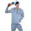 2017 новый весной мужской свитер молодежи корейской моды повседневная одежда мужская одежда куртка мужская хлопчатобумажная куртка мужская длинная мужская одежда крупногабаритная хлопчатобумажная одежда
