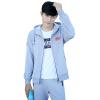 Весной и осенью новый мужской спортивный костюм 2017 новый кардиган капюшон Тонкий бегущий костюм молодежи Корейский случайный сви