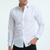 Фото Brand 2017 Fashion Male Shirt Long-Sleeves Tops 3D Geometric Print Casual Shirt Business Mens Dress Shirts Slim Men Shirt XXXL