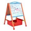 Ай Buding может детям WordPad Альбом строительные леса древесины односторонней магнитной доски станковой доске клип 63см