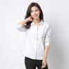 Антарктическая (nanjiren) рубашка женская Oxford свободная рубашка сплошной цвет рубашка весна белый XL