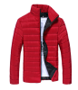 Winter Men Jacket 2017 New Brand Casual Solid Color Warmth Mens Jackets And Coats Thick Parka Men Outwear XXXL portable wireless bluetooth speaker system talking caller id speakerphone sd card slot charzon mmbox for iphone android smart phones ipad tablets macbook notebooks not for windows 8 built in voice guidance for easy installation no risk t