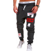 Mens Joggers Brand Male Trousers Men Pants Casual Pants Sweatpants Jogger Black XXXL ADBBB