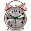 Фото 4.5 Inch Double Bell Alarm Clocks Metal Silent Sweep Loud Alarm Kids Table Clock 4.5 Inch Bell Night Light Large Number Alarm Cloc 110db loud security alarm siren horn speaker buzzer black red dc 6 16v