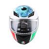 AGV K3 TOP шлем мужской и женский шлем анфас шлем бежать итальянский гоночный мотоцикл езды шлем VALENTINO'S EYE XL plastic toy мотоцикл заводной гоночный