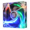 PCCooler (PCCOOLER) Бог лед четыре цвета лампы корпус вентилятора (12 см яркий свет / PC питания вентилятор / вентилятор процессора / лиганд винт)