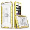 GANGXUN Чехол для iPhone 6 6s Plus Легкий защитный чехол 2 в 1 для iPhone 6 6s Plus антигравитационный чехол для iphone 6 plus 6s plus черный