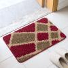 Богатый рейтинг (FOOJO) тафтед мат абсорбента не скользит коврики для ванной коврик коврик 50 × 80 см кухня