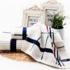 Вогезы Jie Ю. хлопковые полотенца, банные полотенца семьи пакет товаров по-прежнему ясно, Добби взрослых мужчин и женщин, бытовые полотенца * 1 * 2 Подарочный набор + розовый полотенце полотенца банные pastel полотенце банное сакура
