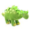 Jinyang творческие (GA Creatives) Динозавр плюшевая игрушка кукла мальчик куклы куклы Детский мультфильм творческий подарок на день рождения Стегозавр стоя 38см