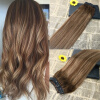 5 Clips One Piece Clip In Human Hair Extensions With Lace Straight Brazilian Virgin Hair Ombre Balayage 4 27 4 brazilian clip in human hair extensions body wave 7pcs set red brazilian hair 99j burgundy clip in human hair extensions thick