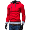 2017 Hoodies Men Sudaderas Hombre Hip Hop Mens Brand Solid Color Fashion Trend Hoodie Sweatshirt Suit Slim Fit Men Hoody men s fashion slim fit sweater navy white l