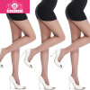 Модальные (3) Г-жа весной и летом ультра-тонкие чулки колготки анти-крюк чулки модальные четыре пары носки ажурные чулки женские короткие чулки сетки колготки сексуальный дупло