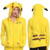 где купить Pokemon Pikachu пикачу  женщины случайные капюшон свитер Cosplay хэллоуин костюмы по лучшей цене