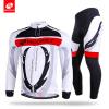 NUCKILY Мужская весна / осень длинный рукав велосипед одежда пользовательских сублимации печатных велосипед набор