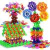 Образования DIY Сборка Снежинка Blocks игрушки Креатив Обучение Строительство Кирпич Строительство строительство