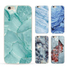 phone shell marble painted phone shell relief soft shell TPU creative art mobile phone sets for iphone 8 7/7plus 6/6s sea life painted pu phone case for iphone 7 8