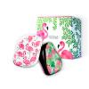 [Супермаркет] TangleTeezer Jingdong красоты гребень гребень принцессы TT портативный анти-завязанный расческа дух-хранитель подарочной коробке (портативные модели розовые фламинго + портативные модели джунгли) гребни bizon гребень диадема заколка