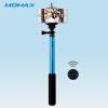 Bluetooth палка для селфи MOMAX с дистанционным управлением палка для селфи lp mpd 2 монопод с bluetooth кнопкой съемки 1 2 м розов
