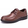 Aokang мужские деловые повседневные туфли удобные британские низкие туфли круглый головной ремень обувь 153311076 черный 41 ярдов кеды кроссовки низкие dc evan smith burgundy