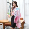 Shanghai Story (история SHANGHAI) г-жа осень и зима шерстяной шарф теплый шарф платок небо розовые цветы пальто alix story alix story mp002xw13vur