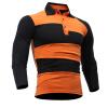 Mens Polo Shirt Brands 2017 Male Long Sleeve Fashion Casual Slim Hit The Color Design Polos Men Jerseys polo shirt biaggio polo shirt