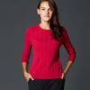 Руи Бика (Marc Rebecca) дикий горный кашемировый свитер пассивом Тонкий свитер свитер женский бэк рубашку конопля розы красный L 55011D