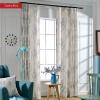 Роскошные причудливые льняные занавески для спальни Современные оконные шторы для гостиной Декоративные дверные занавески Drapes