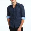 Brand 2017 Fashion Male Shirt Long-Sleeves Tops 3D Geometric Print Casual Shirt Business Mens Dress Shirts Slim Men Shirt XXXL