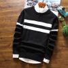 Мужской свитер круглый шею весна и осень новая линия одежда мужской свитер тонкий раздел Тонкий свитер мужская одежда