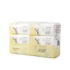Хлопок Возраст (PurCotton) 2017 года новые мягкие хлопковые полотенца уровень младенческой 13x20cm 100 таблеток / мешок 6 мешок / мешок purcotton ватные диски 100 кусков мешок 4